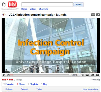 UCLH Infection Control Campaign Video